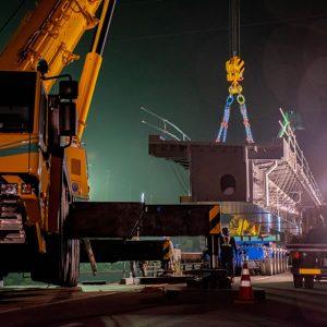 橋梁架設・現場施工画像